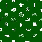 cycling icon pattern eps10