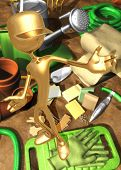 3D Gardening Concept Presenter