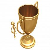 Giant Trophy Cup