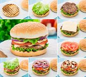 Home made burger. Step by step.