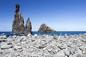 Exciting rock formations on Madeira's (Portugal) coast