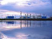 Russia, Nadym - September 4, 2007: ?orporation Gazprom In Novy Urengoy, Yanao, In Russia, Nadym - Se