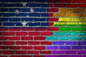 Dark Brick Wall - Lgbt Rights - Samoa