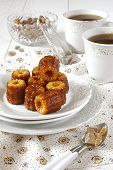 Tea-drinking: Canele - Traditional Dessert Of French Cuisine