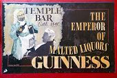 Temple Bar Sign