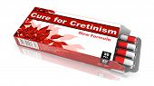 Cure for Cretinism - Blister Pack Tablets.