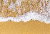 Sand Sea Top View