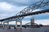 Duluth Harbor Bridges On Lake Superior