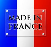 Made In France Sign