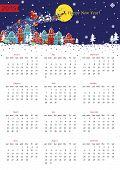 Happy New year 2015  European calendar