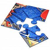 Home Improvement Construction Concept Puzzle