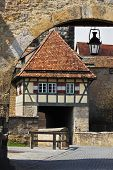 Tower Gates Rothenburg ob der Tauber Germany