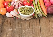 Mung Beans And Vegetables