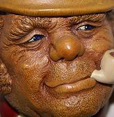 picture of ruddy-faced  - a leprechaun figure - JPG