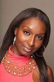 Fashionable Black Woman
