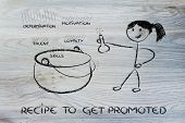 Funny Girl Creating The Recipe To Get Promoted