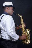 Saxophone Player