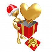 Christmas Gift Heart