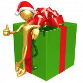Giant Christmas Present