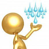 Weather Presenter Rain