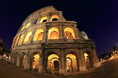 Colosseum at night, Italy