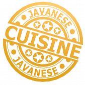 Javanese Cuisine Stamp