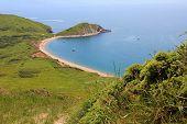 Worbarrow Bay, With Sandy Beach, Dorset