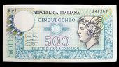 Old Italian Banknote