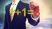 Synergy Concept 1+1=3