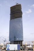 Construction of Moscow office center (2)