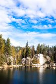 Piskovna lake, Teplice-Adrspach Rocks, Czech Republic