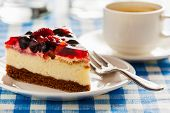 stock photo of dessert plate  - Dessert background  - JPG
