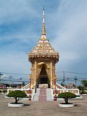 stock photo of crematory  - Crematory of Nang Sao Temple - JPG