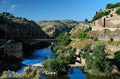 Canyon Of Tajo River Near Toledo, Spain