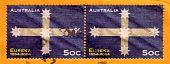 Circa 2004 : Cancelled Australian Postage Stamp Eureka Stockade History