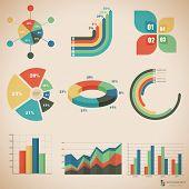 Vector illustration set of infographics