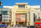 Dolby Theatre In Hollywood Boulevard, Los Angeles
