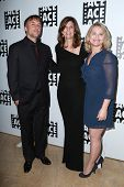 LOS ANGELES - JAN 30:  Director Richard Linklater, editor Sandra Adair and producer Cathleen Sutherland at the 65th Annual ACE Awards at a Beverly Hilton Hotel on January 30, 2015 in Beverly Hills, CA