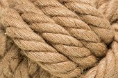 Tied Up Rope Knot