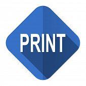 print flat icon