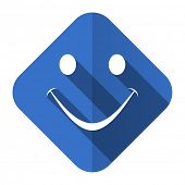 smile flat icon