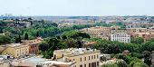 foto of emanuele  - Rome aerial view from Vittorio Emanuele monument on May 29 2014 Rome Italy - JPG