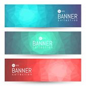 Site Banner Collection. Headers Set. Hero Backgrounds