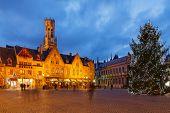 Bruges At Christmas.