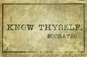 picture of greek  - know thyself  - JPG