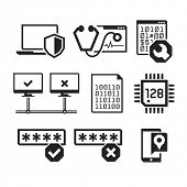 picture of vpn  - Computer repair icons set 03   - JPG