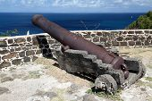 Fort At Pigeon Island, St. Lucia