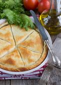 pic of phyllo dough  - Tiropita  - JPG