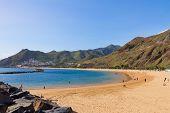 beach Las Teresitas, Tenerife, Spain