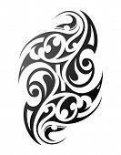 foto of maori  - Maori tattoo - JPG
